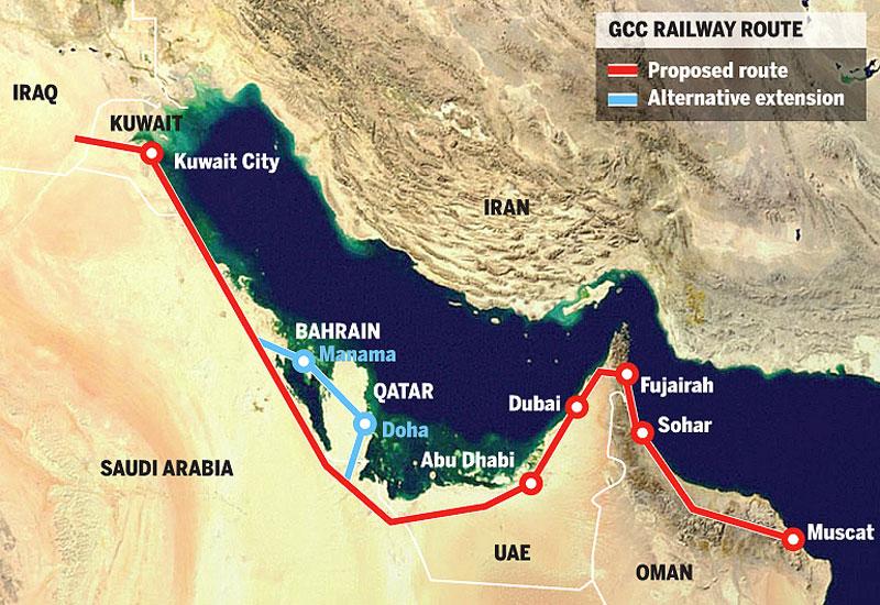 G.C.C. Railway – La nuova ferrovia transarabica  – 2.177 km. tra dune sabbiose e mare blu cobalto.